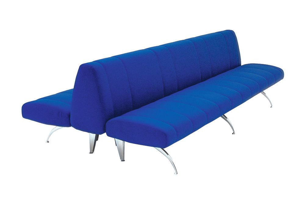 A4301 - Stamskin Top 4340-07478, 125 X 135 X 75,Moroso,Benches,blue,couch,furniture,turquoise