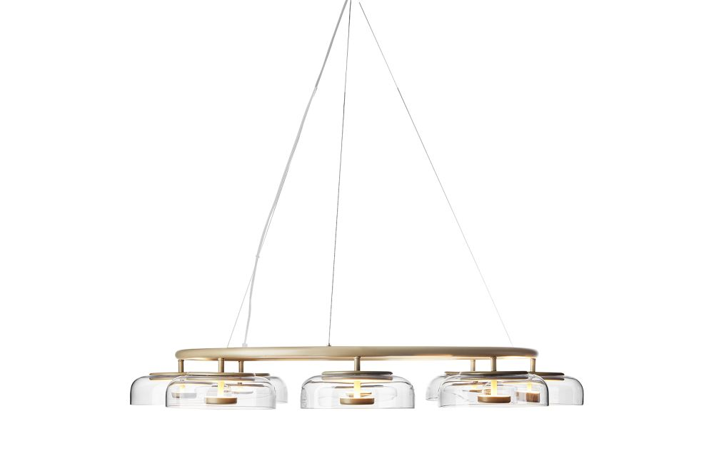 Blossi 8 Chandelier by Nuura