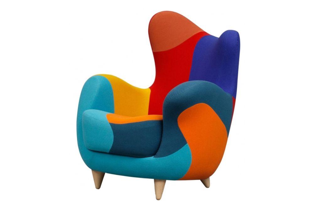 Version A, Beech Natural,Moroso,Armchairs,chair,design,furniture,orange