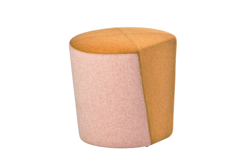 A0867 - Divina 3 623 red,Moroso,Stools,beige,cylinder,furniture,orange,pink,stool