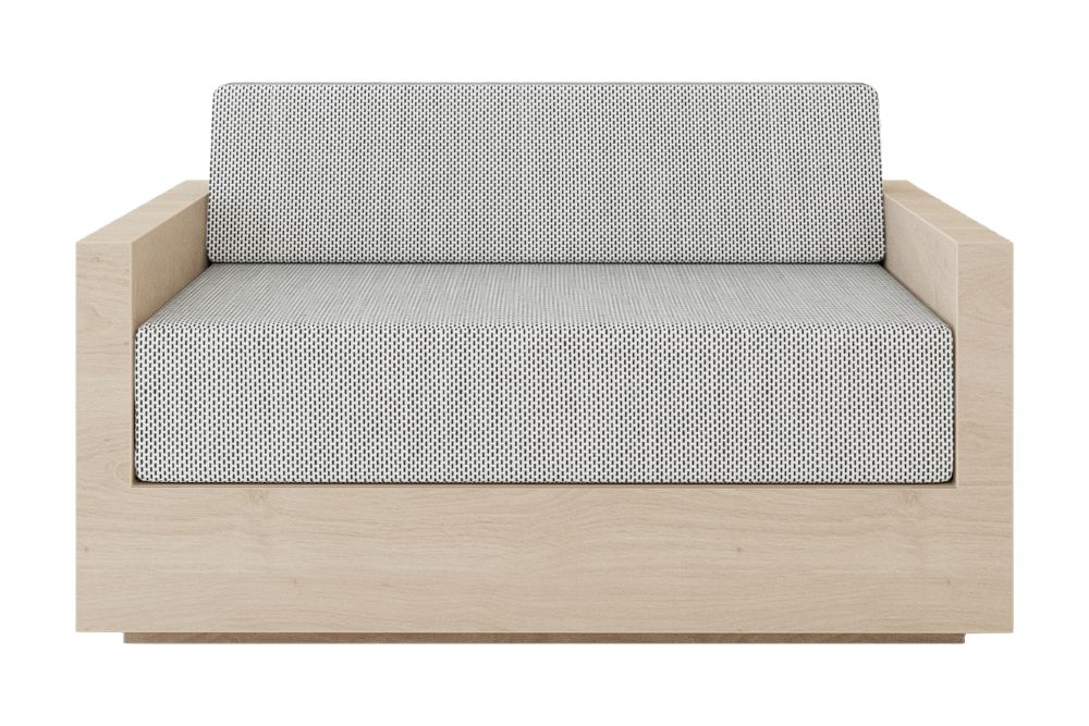 Mass Love Seater by New Works