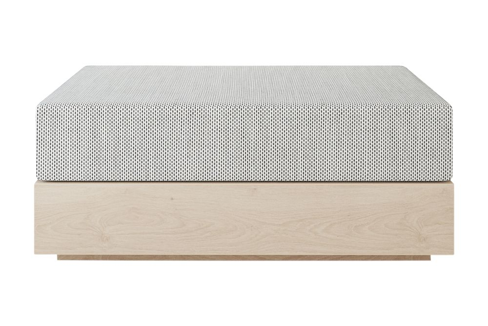 Natural ash, Remix 2 113,New Works,Footstools,furniture,rectangle,table