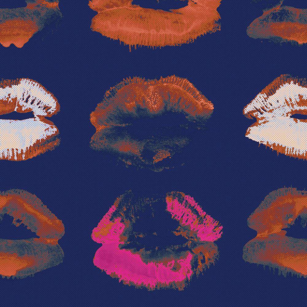 Kiss,Mind The Gap,Wallpapers,orange