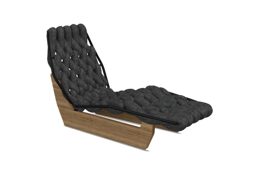 Biknit Chaise Longue by Moroso