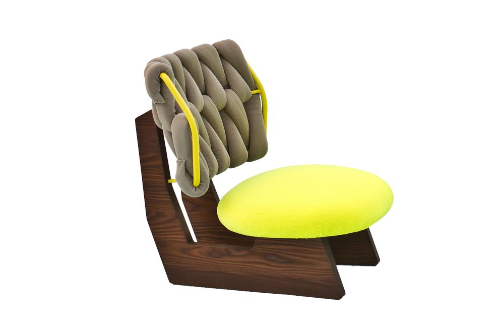 A7937 - Elastic 1 Uniform Melange Ink, Natural Oak, Sand Grey, SOLAR / RAL 1005 honey yellow,Moroso,Armchairs,chair,furniture