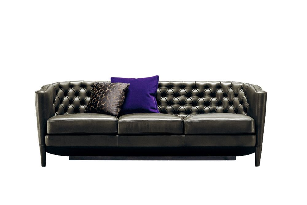 Rich Capitoné 3 Seater Sofa by Moroso