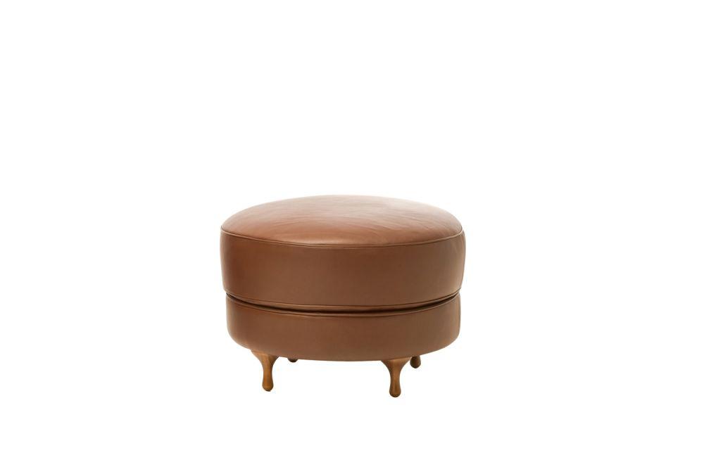 A8126 - Units 4 Nuvola blue, Beech Black,Moroso,Footstools,furniture,leather,ottoman,stool