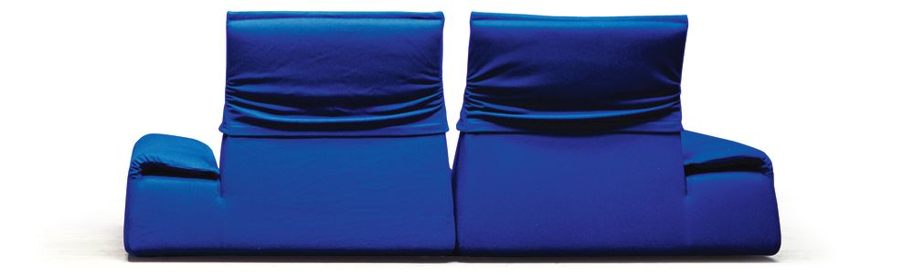 A7861 - Elastic 1 Uniform Melange Jeans,Moroso,Sofas,blue,cobalt blue,electric blue,furniture,textile