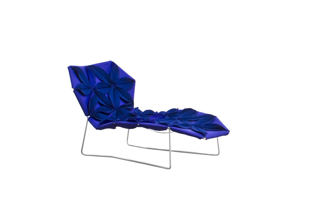 A0867 - Divina 3 623 red, Front Side Petal,Moroso,Lounge Chairs,blue,chair,cobalt blue,electric blue,folding chair,furniture
