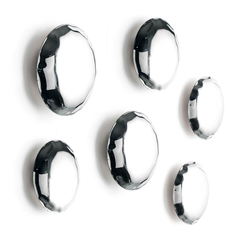 Graphite RAL 7021, 3 x Ø 10 cm, 2 x Ø 12 cm, 1 x Ø 14 cm,Zieta,Hooks & Hangers,auto part,automotive wheel system,fashion accessory,font,rim