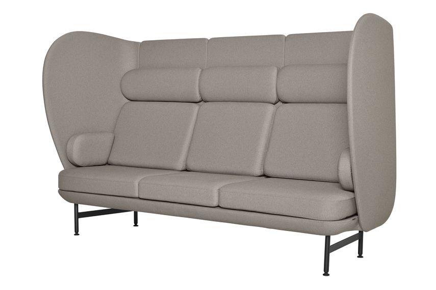 Divina 3 106,Fritz Hansen,Sofas,armrest,beige,chair,comfort,couch,furniture,loveseat,outdoor furniture,outdoor sofa,sofa bed,studio couch