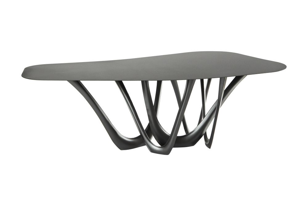 Powder Coated Steel, RAL 8022,Zieta,Dining Tables,coffee table,furniture,table