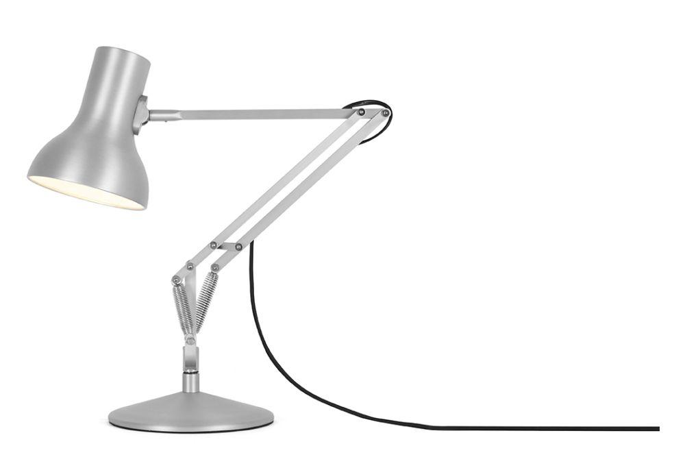 Silver Lustre,Anglepoise,Desk Lamps,lamp,light fixture,lighting
