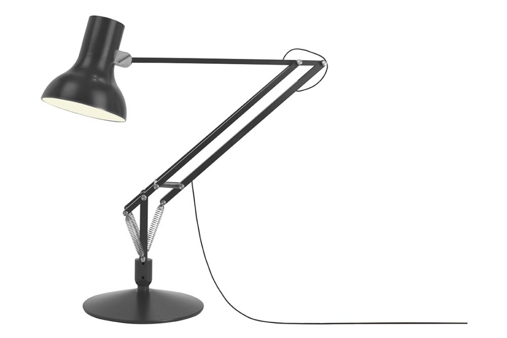 Crimson Red,Anglepoise,Floor Lamps,lamp,light fixture,lighting,microphone stand