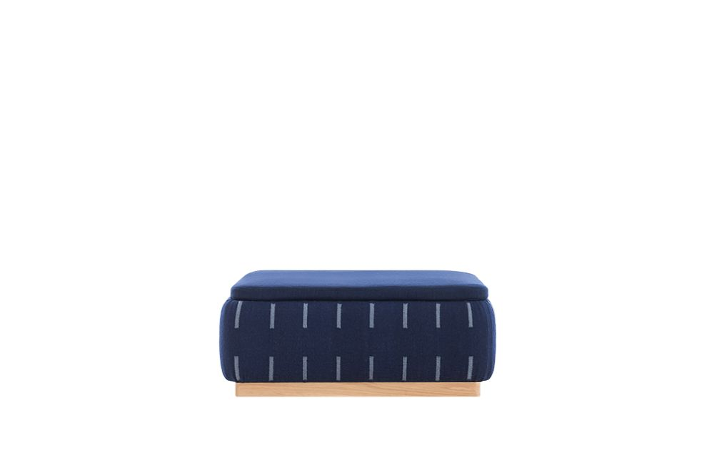 Indigo,GAN,Footstools,blue,cobalt blue,electric blue,rectangle,wallet