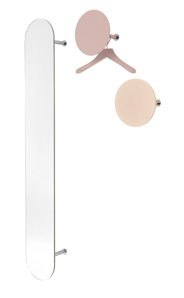 Slot Elongated Coat Rack by Schönbuch