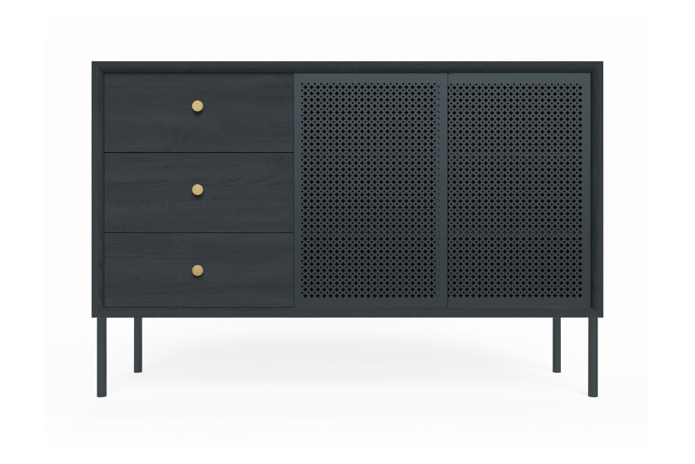 Full Slate Grey,HARTÔ,Cabinets & Sideboards,chest,chest of drawers,drawer,furniture,sideboard