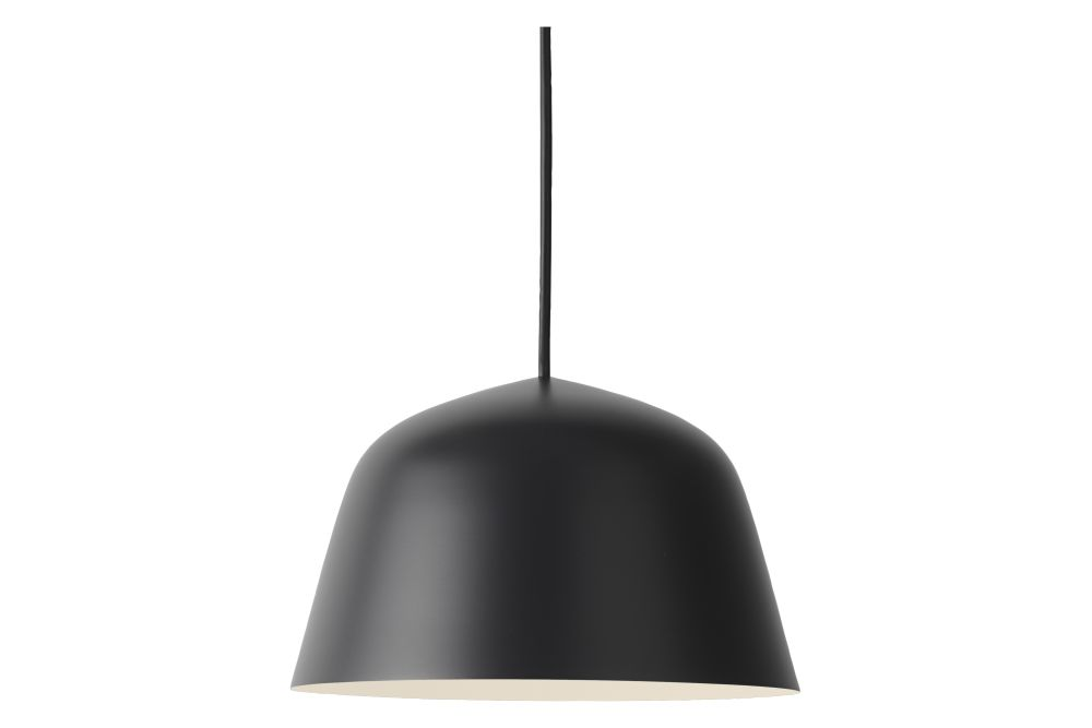 Grey, 40 cm,Muuto,Pendant Lights,black,ceiling,lamp,lampshade,light,light fixture,lighting,lighting accessory,product