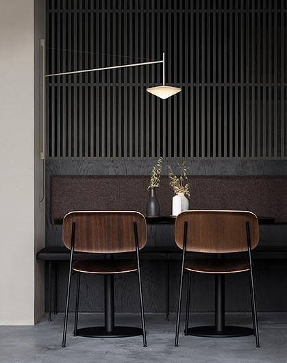 With plug,Matt graphite lacquer,Vibia,Wall Lights,architecture,chair,furniture,interior design,line,room,table,wall