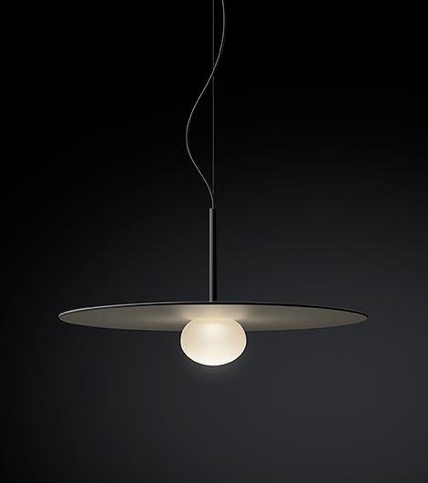 Matt graphite lacquer,Vibia,Pendant Lights,ceiling,ceiling fixture,lamp,light,light fixture,lighting,lighting accessory,still life photography