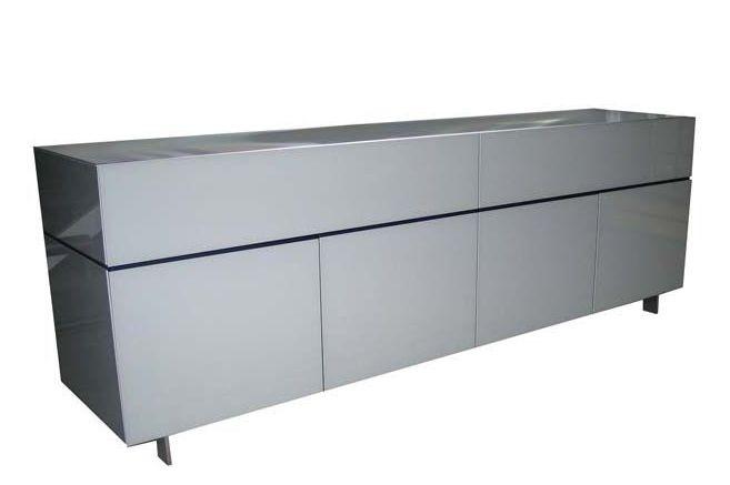 Globo Sideboard 2 with Cast Aluminium Legs by Roche-Bobois
