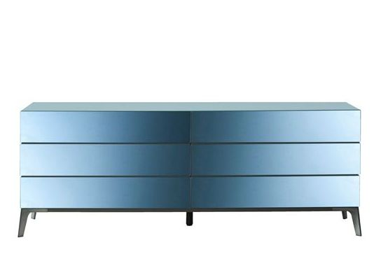 Blue Mirror,Roche Bobois,Cabinets & Sideboards,chest,chest of drawers,drawer,furniture,rectangle,sideboard,table
