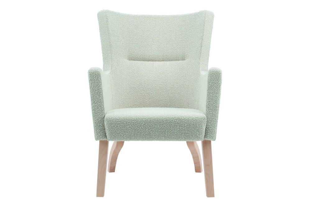 Birch Natural Lacquer, Main Line Flax Newbury,Swedese,Lounge Chairs,chair,furniture,turquoise