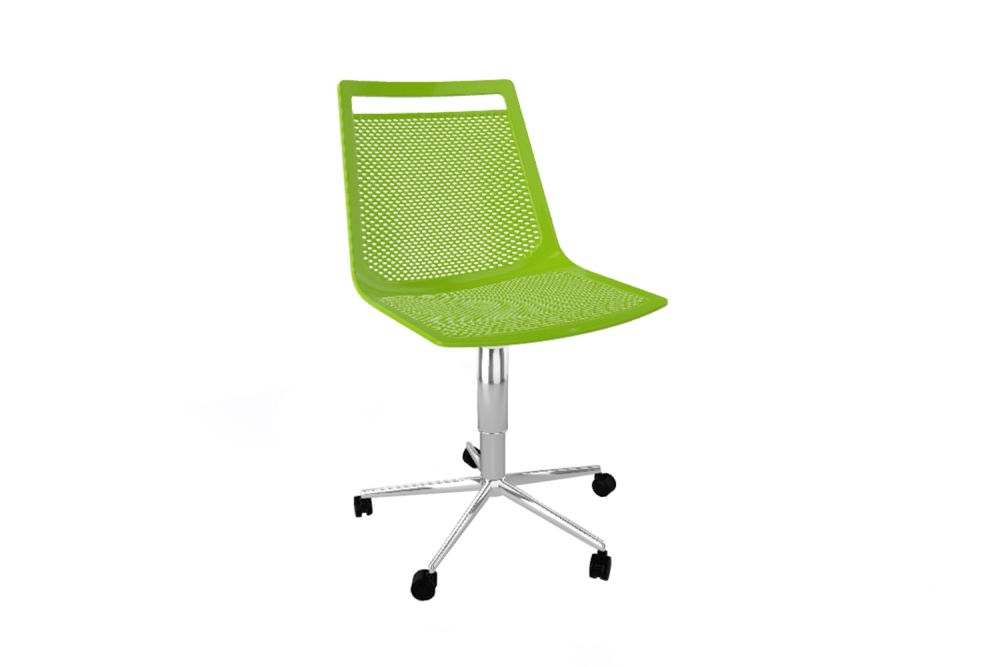 00 White,Gaber,Conference Chairs,chair,furniture,green,line,office chair