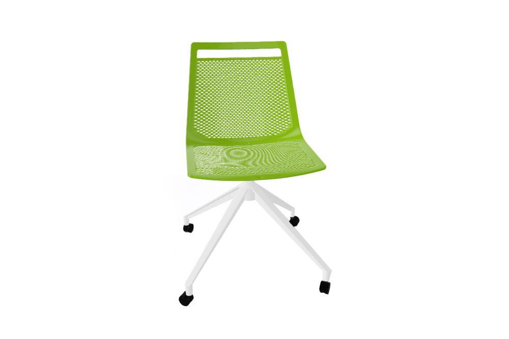 00 White, White Aluminum,Gaber,Conference Chairs,chair,furniture,green