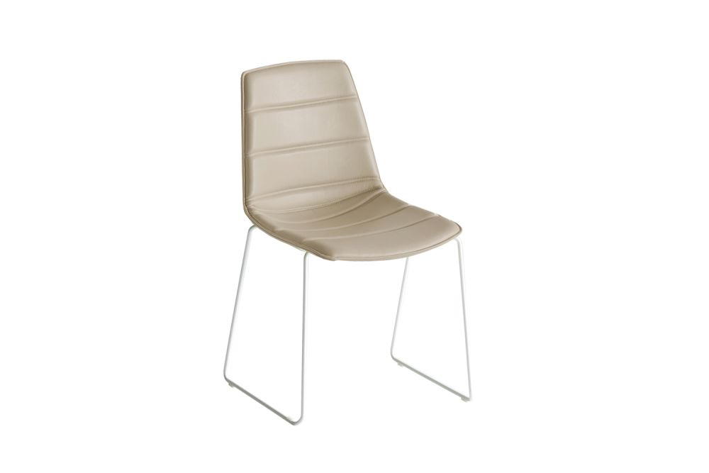Chromed Metal, Simil Leather Aurea 1,Gaber,Breakout & Cafe Chairs,beige,chair,furniture,wood