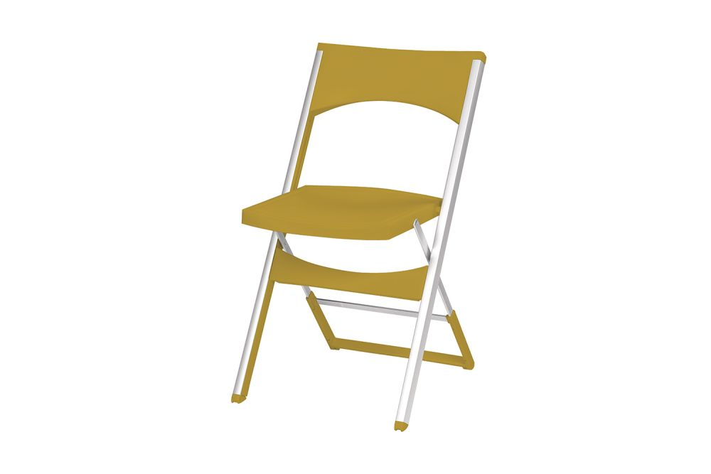 00 White,Gaber,Breakout & Cafe Chairs,chair,folding chair,furniture,yellow