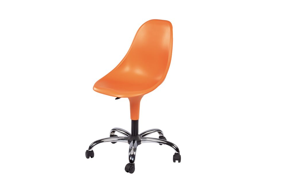 00 White,Gaber,Conference Chairs,chair,furniture,office chair,orange,plastic