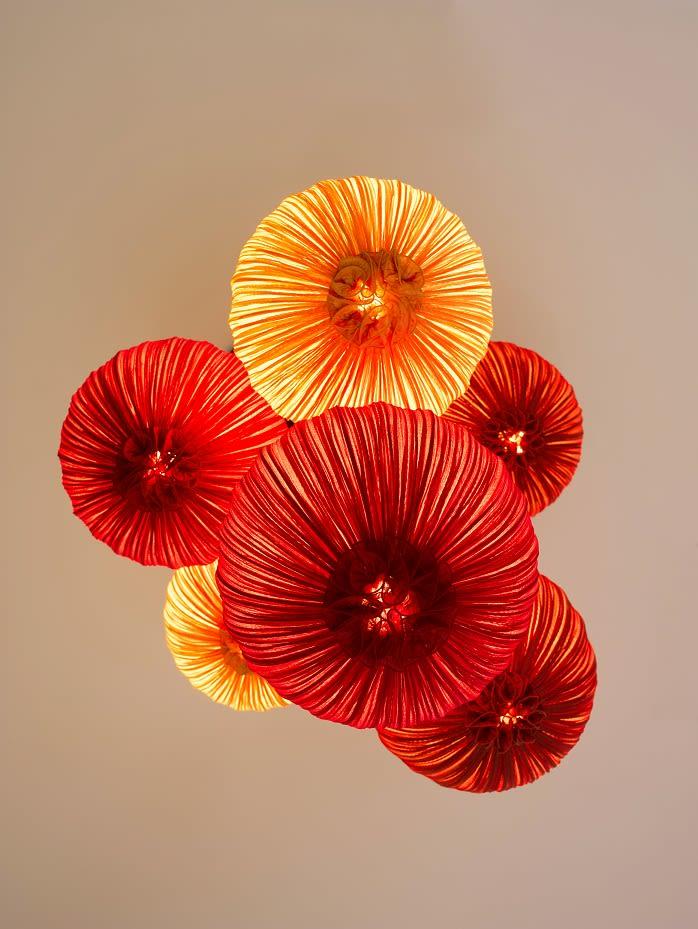 Dippa Flame & Orange Composition