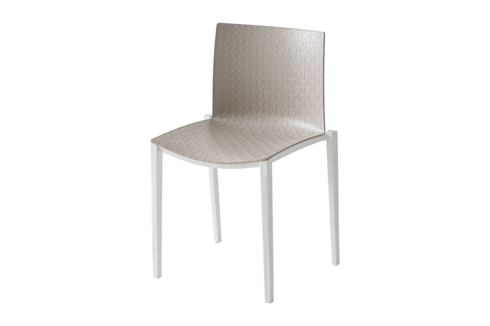 00 White, White-painted Metal,Gaber,Breakout & Cafe Chairs,beige,chair,furniture