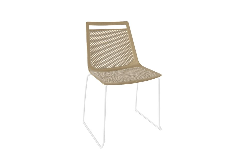 00 White, Chromed Metal,Gaber,Breakout & Cafe Chairs,beige,chair,furniture,outdoor furniture