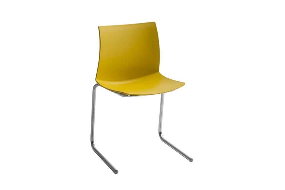 00 White,Gaber,Breakout & Cafe Chairs,chair,furniture,yellow