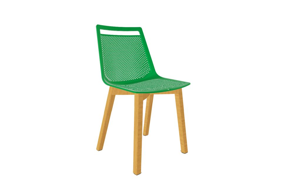 00 White, F Natural Beech,Gaber,Breakout & Cafe Chairs,chair,furniture,outdoor furniture