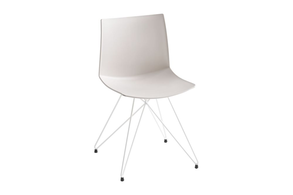 00 White, Chromed Metal,Gaber,Breakout & Cafe Chairs,chair,furniture,product