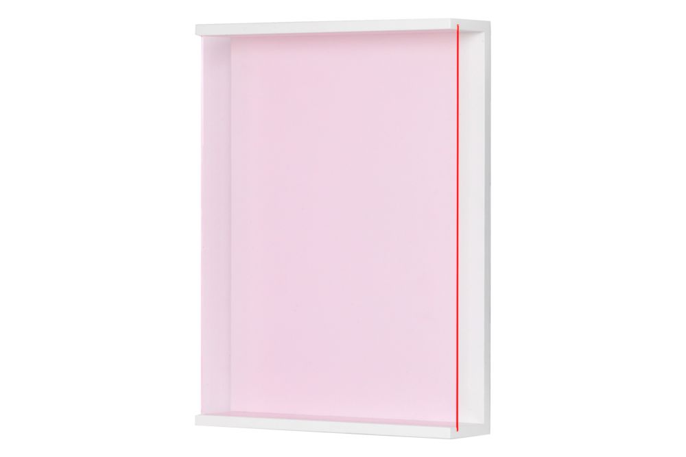 734 Acrylic Glass Red,Schönbuch,Bookcases & Shelves,pink,rectangle