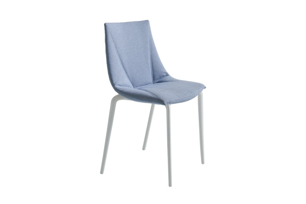 Colorfive TP Upholstered Dining Chair Set of 4 by Gaber