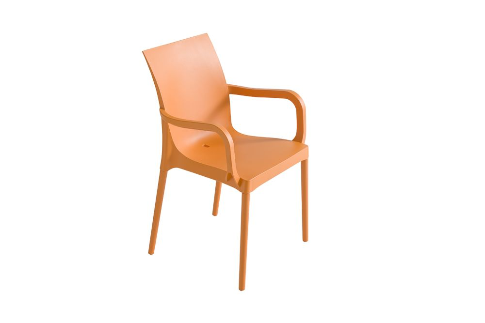 00 White,Gaber,Breakout & Cafe Chairs,chair,furniture,orange