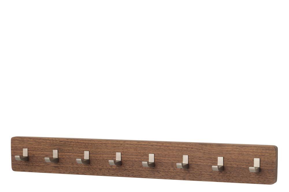 16 Oiled Natural Walnut, 8,Schönbuch,Hooks & Hangers,rectangle,shelf,wood