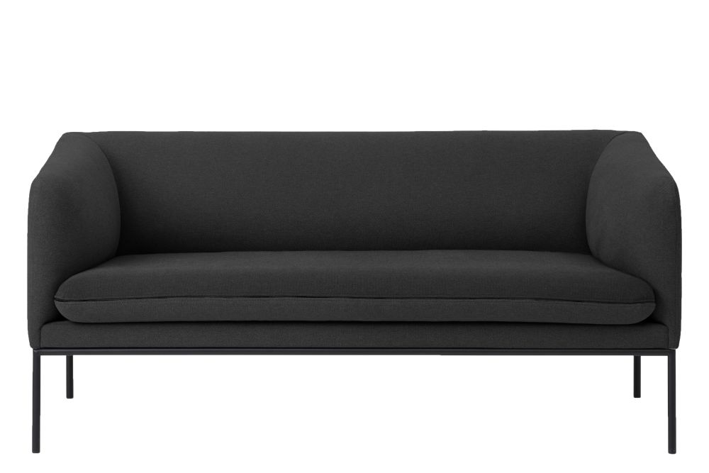 Cotton, Blue / Light Grey, Without Crib 5,ferm LIVING,Sofas,black,couch,furniture,loveseat,sofa bed,studio couch
