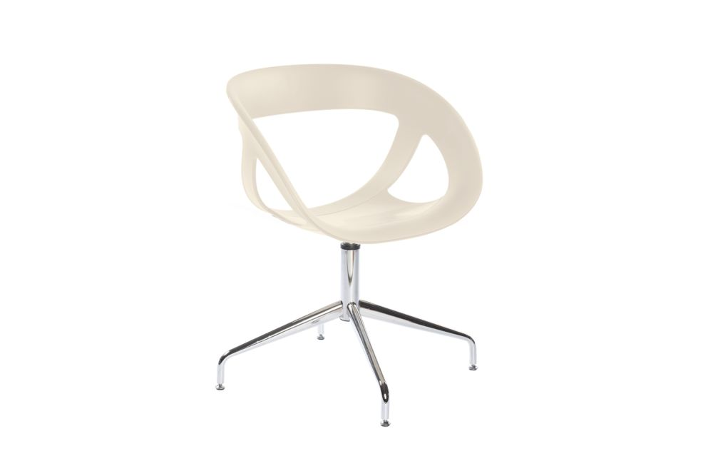 00 White,Gaber,Breakout & Cafe Chairs,chair,furniture,plastic