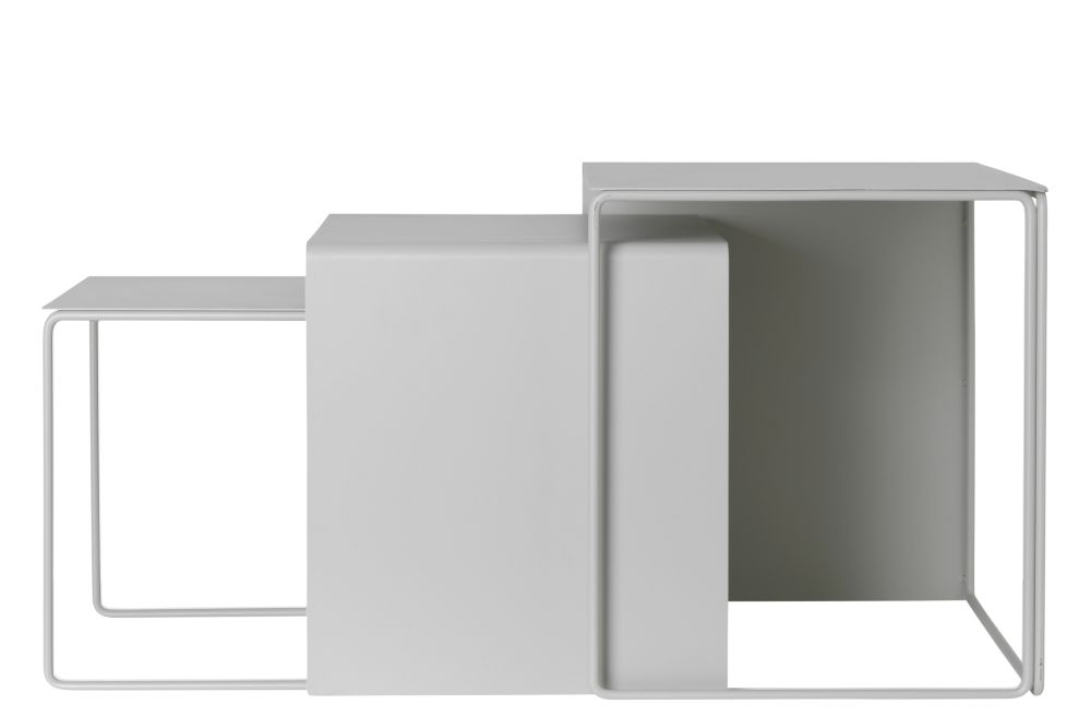 Light Grey,ferm LIVING,Coffee & Side Tables,product,table