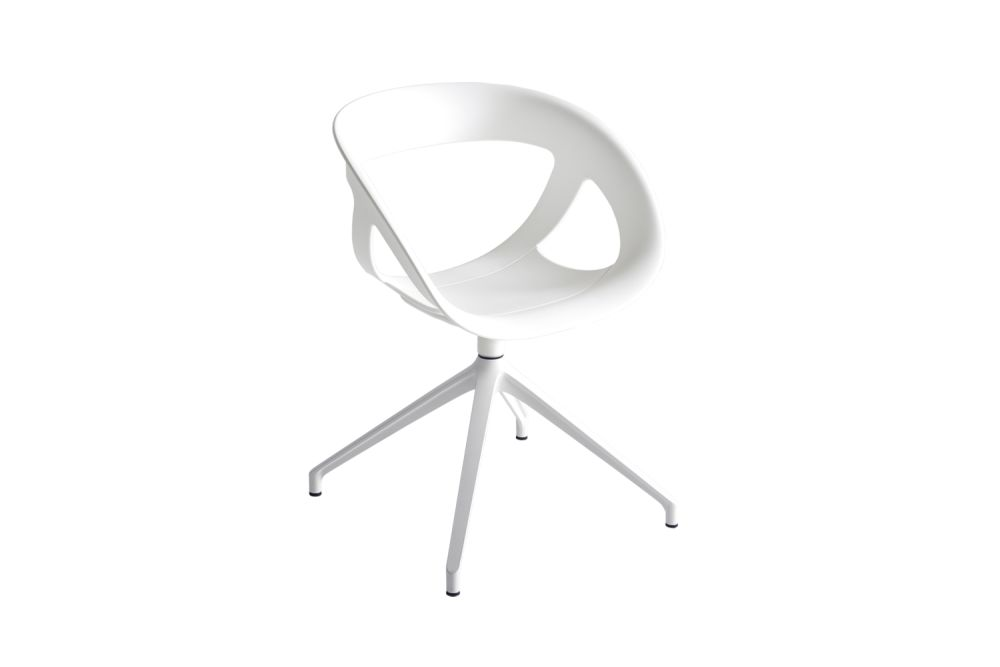White Aluminum, 00 White,Gaber,Conference Chairs,chair,furniture