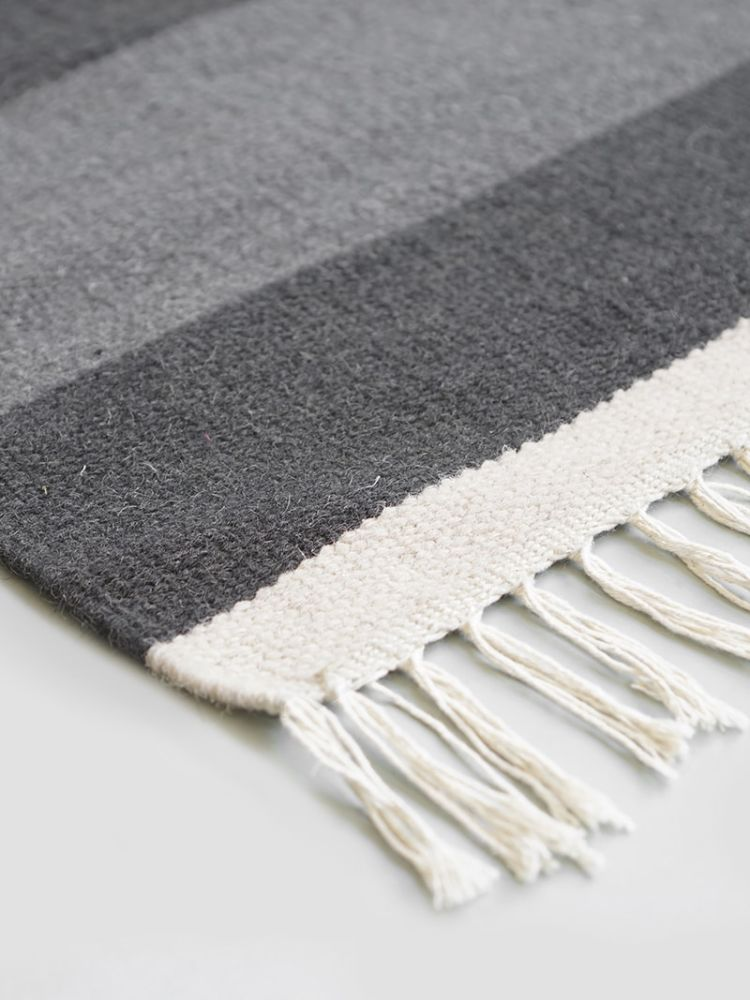 Extra Large,ferm LIVING,Rugs,grey,white,wool