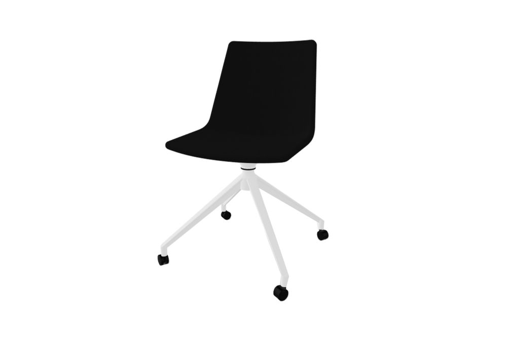 White Aluminium, King Fabric 4021,Gaber,Conference Chairs,chair,furniture,office chair