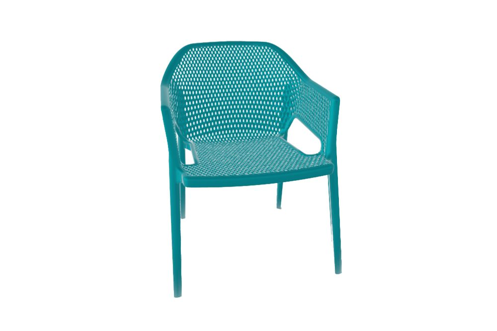 00 White,Gaber,Breakout & Cafe Chairs,aqua,chair,furniture,outdoor furniture,turquoise