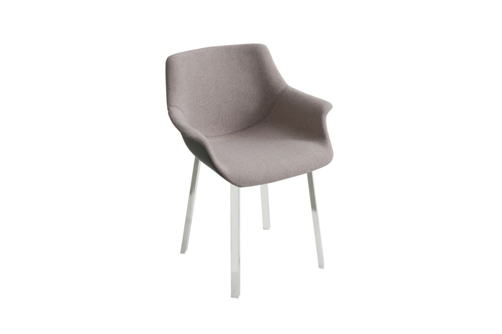 Chromed Metal, King Fabric 4021,Gaber,Breakout Lounge & Armchairs,beige,chair,furniture
